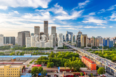 Beijing, China Skyline