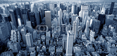 Manhattan top view