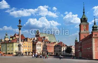 Castle Square. Warsaw.
