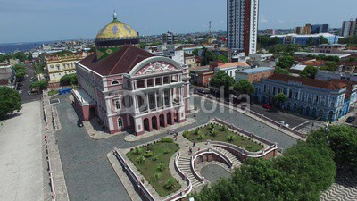 Amazon Theater in Manaus, Brazil