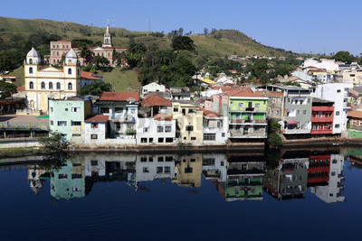 Overview of the tourist town of Pirapora Bom Jesus