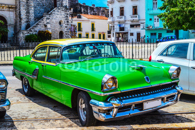 American and Soviet cars 1950 - 1960 from Havana.