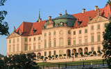 The Royal Castle in Warsaw - east elevation, side of the Vistula