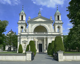 Warsaw - The Church of St. Anne in Wilanow, Poland