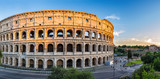 sunset at Colosseum - Rome - Italy