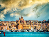 view on Birgu from the sea