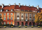 New town market place in Warsaw. Poland