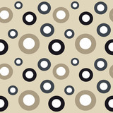 circle seamless vector pattern background abstract illustration