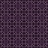 Purple Colors Round grid Pattern. Korean traditional Pattern Des