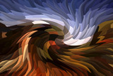 Eagle - abstract art