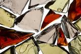 decorative glass shards