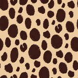 Animal skin. Seamless patterns.
