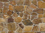 Colorful stone wall background or texture