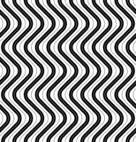 Black and white geometric seamless pattern modern stylish.