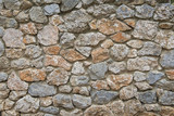Mosaic stone wall background