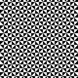Black and White triangle pattern