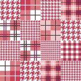 Geometric Patchwork Seamless Pattern