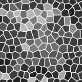 grey wall mosaic