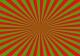 red and green abstract starburst background