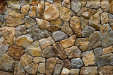 gravel small stone wall style design decorative uneven cracked real stone wall surface with cement