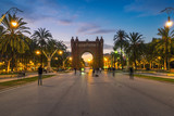 Arch of Triumph in Barcelona