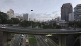 4K Time lapse Traffic Sao Paulo