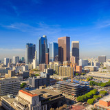 Downtown LA  skyline cityscape California