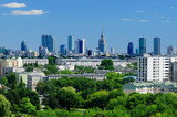 Panorama of Warsaw