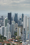 Aerial shot of Panama city skyline,Panama, Central America