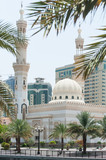 Al Qasba Mosque in Sharjah, United Arab Emirates