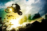 Urban Dirt Bike Jump