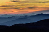 Layers of the Blue Ridge Mountains