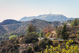 Mountain view with Hollywood Sign from the Griffith Observatory