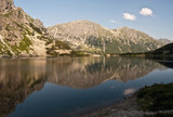 Czarny Staw lake in Tatry mountains