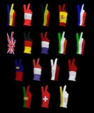 Flags of Western Europe