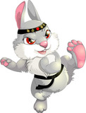 karate rabbit