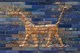 Mosaic of a Dragon on the Ishtar Gate