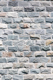 wall of granite bricks as background