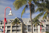 Luxurious hotel in Key West, Christmas time, Florida, USA