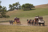 "Santa Ynez Valley Historical Museum and Carriage House hosts ""Spirit of the West,"""" a symposium on Wells Fargo stagecoaches and horse-drawn vehicles of the West, Santa Ynez, Santa Barbara County, California."