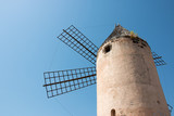 Old Windmill molino in Santa Catalina, Palma de Mallorca, Spain