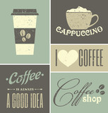 Vintage Coffee Collage