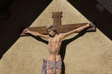 Ancient Crucifix - XI Century - Italian Art