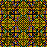 Various Colors of Square grid Pattern. Korean traditional Patter