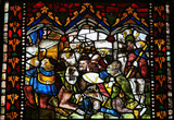 Stained Glass of Cathedral of Leon, Spain