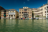 Architecture of Venice-Grand Canal.Italy.