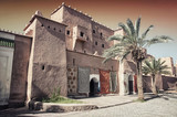 Taourirt Kasbah in berber town Ouarzazate, Morocco