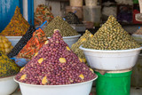 Shop with Olives, Morocco