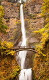Multnomah Falls Wodospad Columbia River Gorge, Oregon