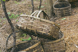 Baskets for grape harvest